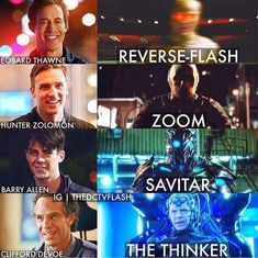 Who was the best flash villain so far? For me, it was reverse flash, then the thinker. ⚡ #onthecw #DC #DCEU #theflash #reverseflash…