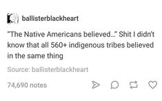 that is a GOOD POINT i wanna ask someone who knows what they're talking about what kinds of variations in religion there are among Native American tribes