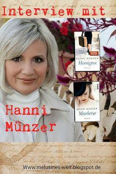 Lächelnd auf der Jagd nach dem Regenbogen - Interview mit Hanni Münzer, Hanni, Münzer, #HanniMünzer #Honigtot #Marlene #Interview Buchblog Melusines Welt Interview, Buchblogger, deutschsprachig