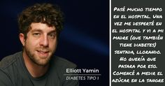 Elliott Yamin - Diabetes Tipo 1