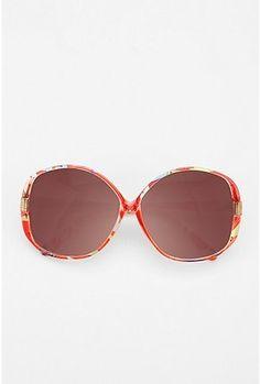 a511a793b1 UO Printed Round Sunglasses  16