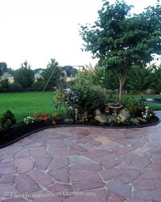This Grandmother's Garden: You Can Build a Flagstone Patio