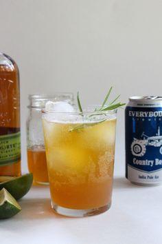 Pineapple Shrub Whiskey Cocktail