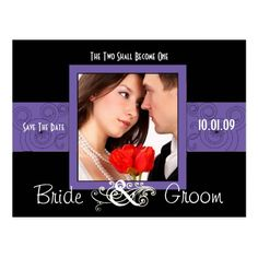 Christian Wedding Save the Date Cards Save The Date with Your Photo Postcard