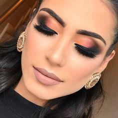 """7,238 curtidas, 58 comentários - Michelly Palma Makeup (@michellypalmamakeup) no Instagram: """"Outra vez a linda @jupeppes dominando com esse esfumado lindo e colorido ❤️❤️  AGENDA CURSOS…"""""""