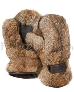 Shop FurSource for the best selection of Real Fur Mittens. Buy the Rabbit Fur Mittens in Brown by FRR with fast same day shipping. Cold Weather Gear, Mens Fur, Fur Accessories, Fur Clothing, Fur Fashion, Leather Gloves, Leather Hides, Mitten Gloves, Hand Warmers