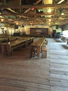 Inside the Gruene Hall, love the old wooden floors!