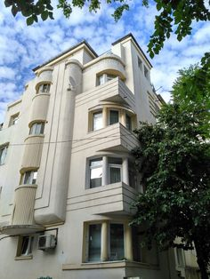 Interesting Buildings, Small Art, Bucharest, Romania, Frocks, Birth, Architecture Design, Scenery, Art Deco