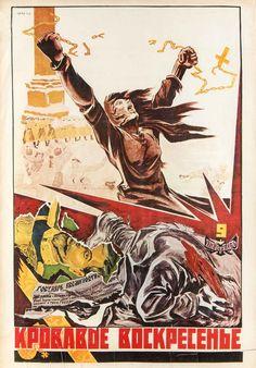 Russisches Propagandaplakat,