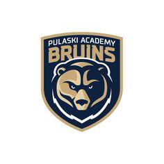 Pulaski Academy Bruins Concept Logos on Behance