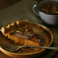 Pumpkin Pie with Pec