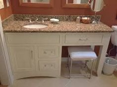 bathroom sink cabinets and makeup vanity - Google Search