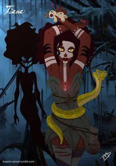 2. Tiana de La Princesa y el Sapo.
