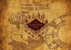 Image Result For Harry Potter Marauders Map Wallpaper