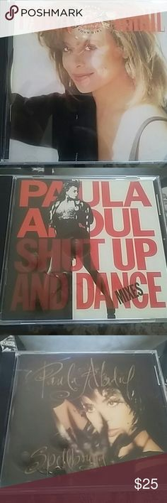 Paula Abdul CD Bundle Pre owned all discs are in great condition...No Scratches! The 4 album bundle includes her Head over heels, Spellbound, Shut up & dance mixes & Forever your girl. Other