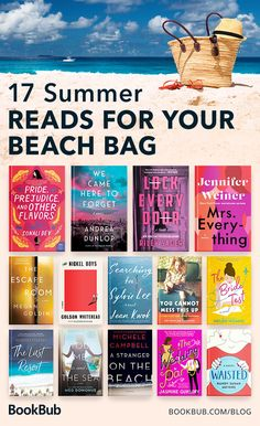 17 Summer Books for Your Beach Bag - - Featuring light summer romantic comedies and twisty beachside thrillers! Feel Good Books, Best Books To Read, I Love Books, My Books, Teen Books, Summer Books, Summer Reading Lists, Beach Reading, Good Summer Reads