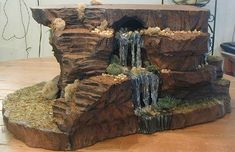 Miniature Christmas Village Displays | Waterfall hill VII | Flickr - Photo Sharing!