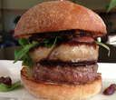 Wagyu Beef Sliders, Foie Gras, Duck Bacon and Condiments Make your own Wagyu Beef Sliders Order: Laurel Pine, Living Luxury