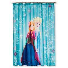 Disney Frozen Anna Elsa Shower Curtain