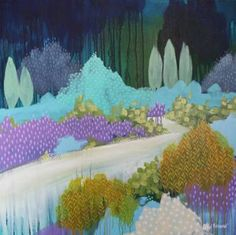 "Saatchi Art Artist Clair Bremner; Painting, ""Nature Walk"" #art"