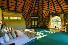 Internal view of Matobo Hills Lodge