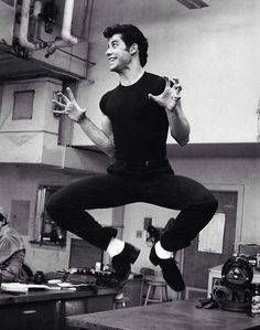 John Travolta, Grease, 1977
