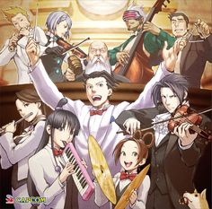 Ace Attorney Orchesta  Omg this is ridiculous XD