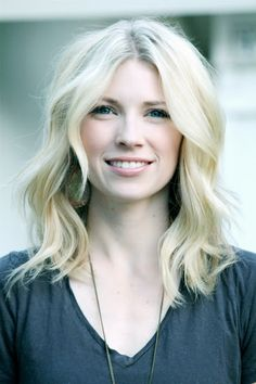 Wavy-haired beauty, Brooke White