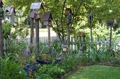 birdhouses gardenscapes-gates-fences