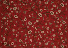 Honeysuckle.  An inspiring colour palette of duck egg blue, toned with caramel and chocolate browns against a sumptuous red cotton backdrop.  http://www.saffisew.co.uk/products-by-fabric.asp?id=3  FREE delivery!