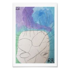 Card#22 Photo Print - kids kid child gift idea diy personalize design