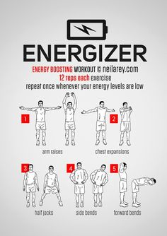 """The """"Energizer"""" Workout"""