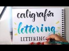 Lettering Course - Lesson Differences between Calligraphy and Lettering Calligraphy Letters, Modern Calligraphy, Scrapbook Letters, Quilling Letters, Vocabulary Activities, Brush Lettering, Online Gratis, Happy Planner, Alphabet