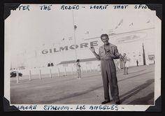 Larry Gilmore Stadium, 1940, rodeo