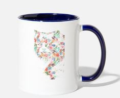funny girl cat shirt design cat flowers 2020 Two-Tone Mug ✓ Unlimited options to combine colours, sizes & styles ✓ Discover Mugs by international designers now! Shirt Design For Girls, Cat Flowers, Blue Cats, Cat Shirts, Girl Humor, Funny Cats, Shirt Designs, Colours, Mugs