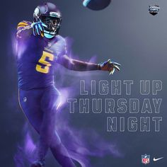 Power Ranking all 32 NFL Color Rush Uniforms 8. Minnesota Vikings Nfl Color  Rush 6226c9e44