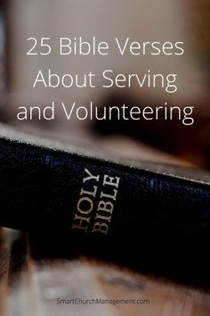 We all need inspiration and biblical reinforcement for what we do. Whether that is volunteering for the local church or serving as a church employee, we need to be reminded about what the Word says about what we do. Here are 25 bible verses that speak to God's purpose and expectation for us to serve …