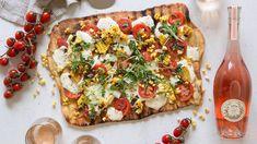 Talia's Quick Italian Tomato-Black Olive Sauce with Spaghetti Grilled Flatbread, Grilled Pizza, Tomato Pizza Recipe, Cheese Crust Pizza, Bacon Potato, Italian Recipes, Italian Entrees, Deep Dish, Pizza Recipes