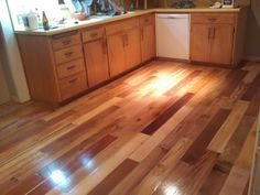 Incredibly beautiful PALLET wood floor. - Imgur