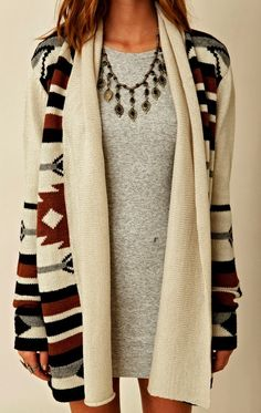 Over Sized Ladies Cardigan Click for more