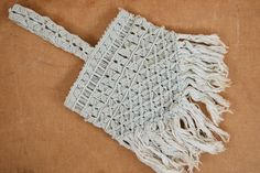 ☆New Listing☆ Vintage 1930s Crochet Purse! // by TrunkofDresses