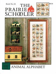 The Prairie Schooler Book No.68 Animal Alphabet #ThePrairieSchooler #Frame
