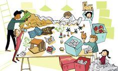 Cómo montar el belén (Ils. de Ximena Maier)