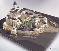 """Check out this @Behance project: """"Castle on sea"""" https://www.behance.net/gallery/37202569/Castle-on-sea"""