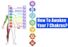 Chakras are the energy centers in the body & awakening them is very important to improve one's life & well-being. Know how to awaken your chakras!