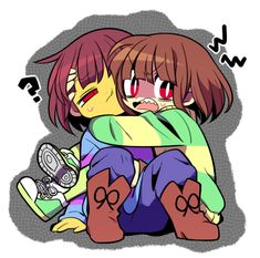 chara: frisk....what are those things?! frisk: I don't know but if you don't get off of me you will regret it.