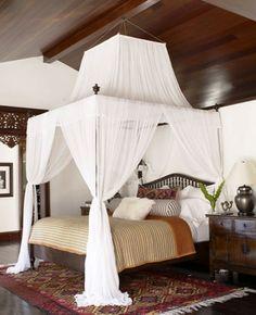Kid Rocks bedroom...british caribbean