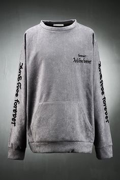 Forever Embroided Sweatshirt
