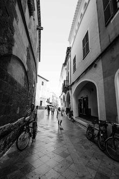 Spanish streets, historic architecture