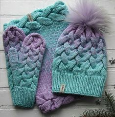 New Crochet Shawl Winter Link Ideas Cable Knit Hat, Knit Beanie Hat, Crochet Beanie, Crochet Shawl, Knit Crochet, Fingerless Mittens, Knitted Gloves, Crochet Patterns For Beginners, Knitting Patterns